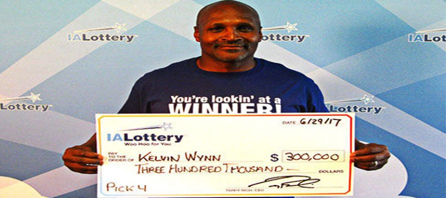 Davenport man saw winning numbers in his dream and won $300,000 lottery prize