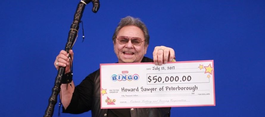 Peterborough man wins $50,000 in lottery game