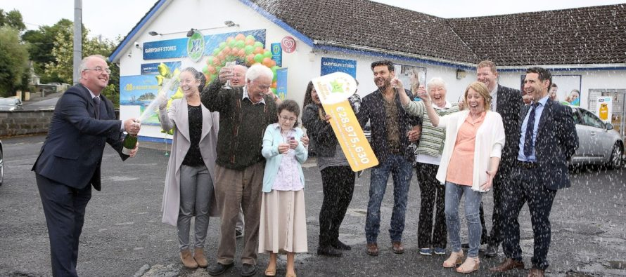 Lottery Bosses confirm the selling point of EuroMillions €29 m jackpot