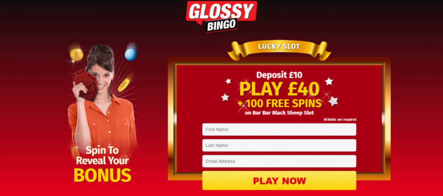 Join Glossy Bingo and get a chance to hit $1,000 jackpot