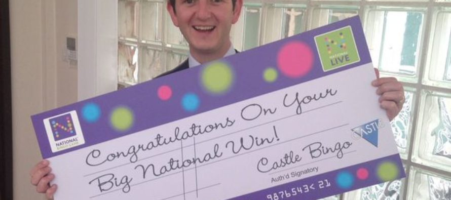 Castle Bingo plans a party as regular hits £50,000 jackpot