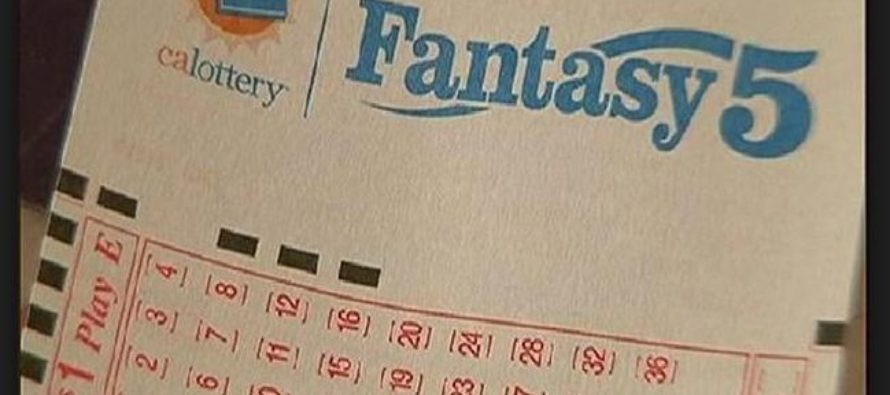 Fantasy 5 Tuesday's game results
