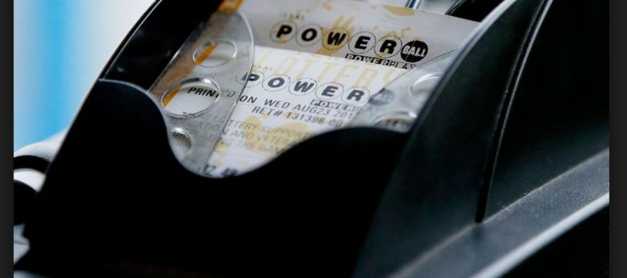 Record-Powerball ticket printing machine removed