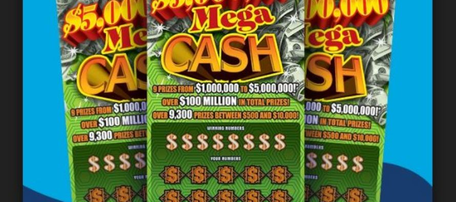 Lillington man scoops $5 million with just a $20 scratch-off ticket
