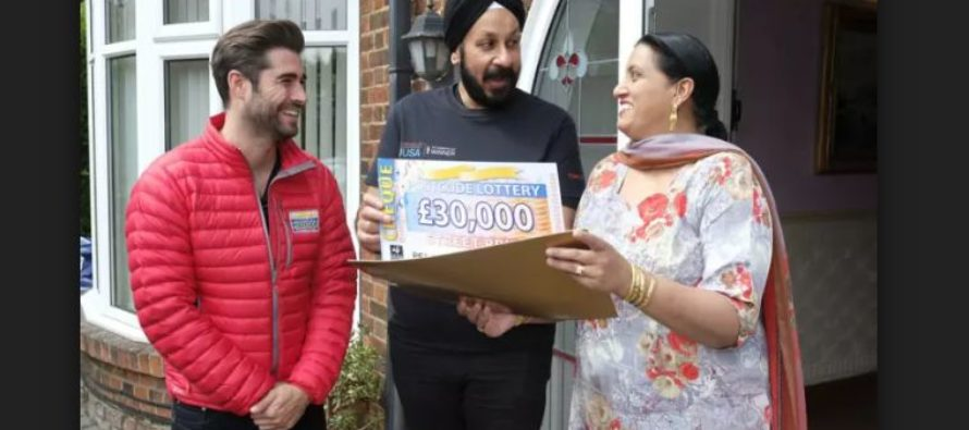 Four Peterborough Households Have Scooped £30,000 Lottery Jackpot