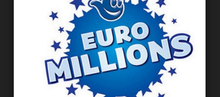 Winning Numbers for £25 Million National Lottery EuroMillions Jackpot