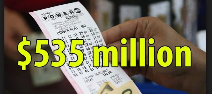 Powerball Lottery jackpot offers half-billion winning prize