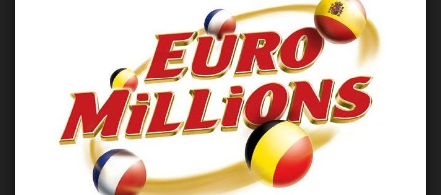 Winning numbers for the £32 Million Jackpot