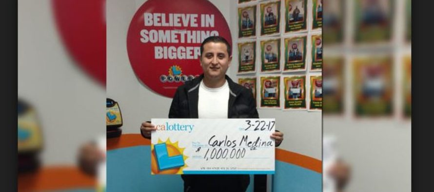 Atascadero man wins $1 million