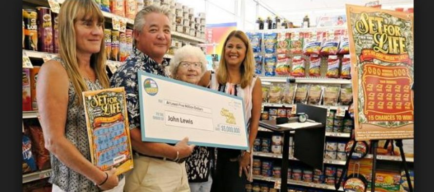 Missing ingredient helped a man to win $5 million