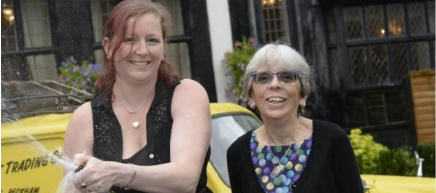 Mother and Daughter collect £1 million Lottery prize