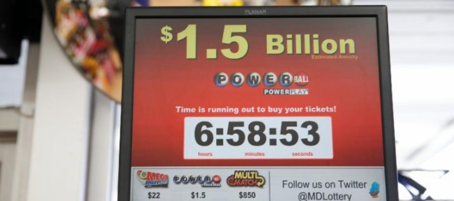 Powerball Jackpot Entered Into the Top 10 List