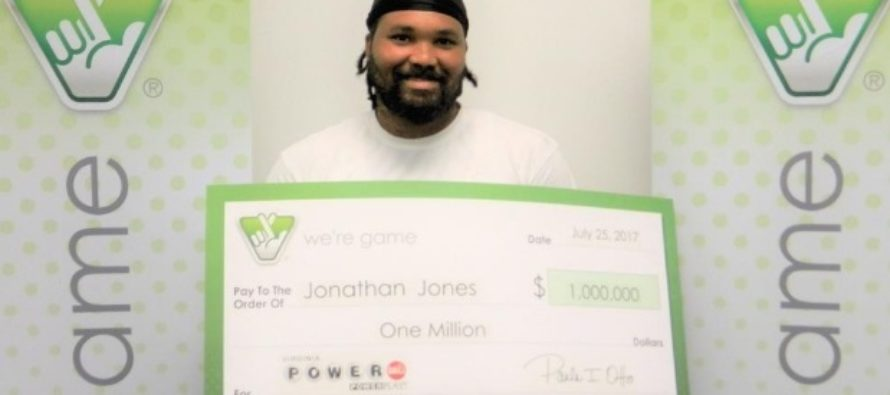 Washington Man Won $1 Million Lottery during Vacation Days