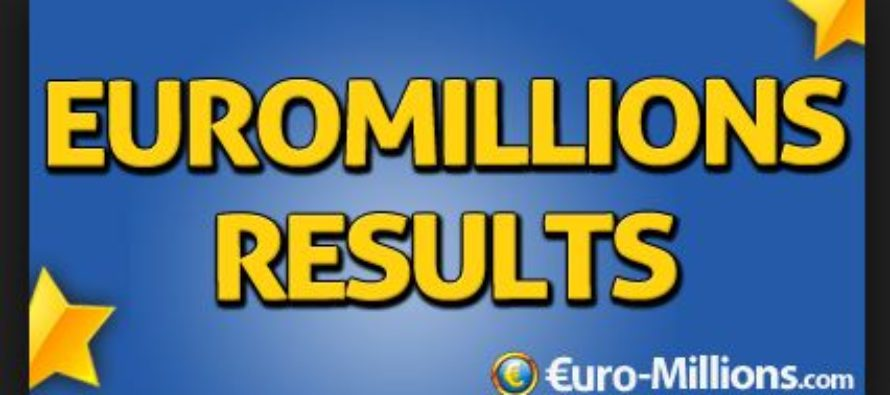 EuroMillions Result: Tuesday, September 12, 2017