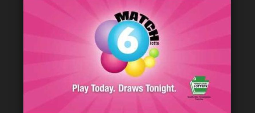 $680,000 Match 6 ticket sold in Luzerne County