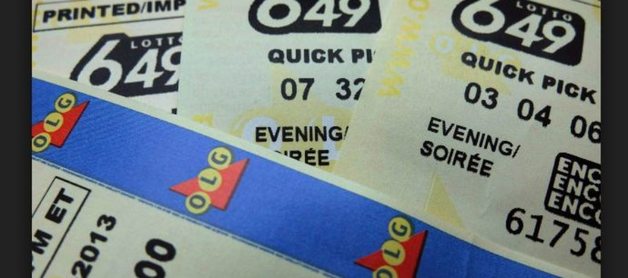 $5 Million Lotto 649 Jackpot Winning Ticket Sold in Ontario