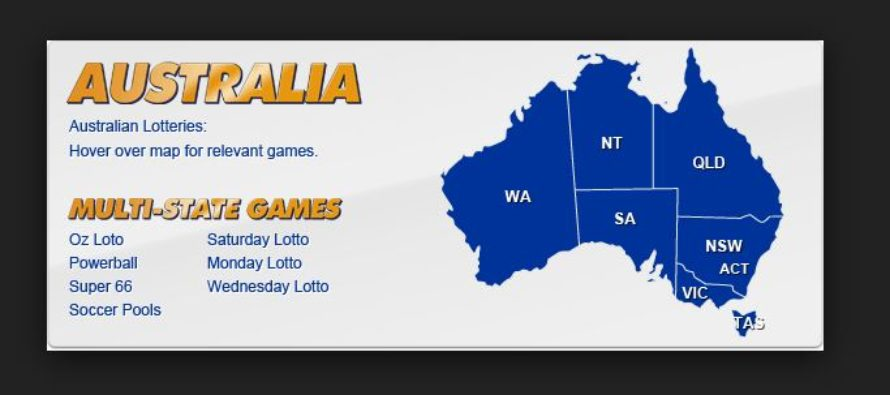 Australia Latest Lottery Results