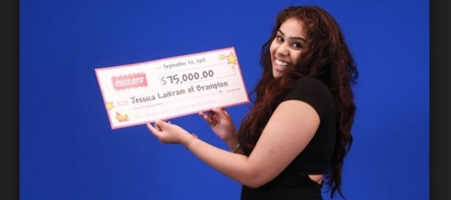 Jessica Laikram intends to use her Winnings for Books and Tuition