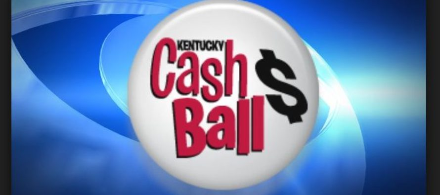 Kentucky Cash Ball winning ticket sold in Greenup County