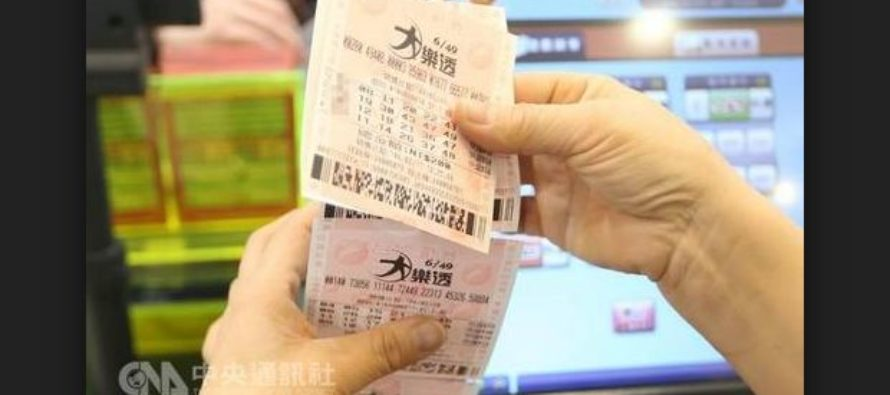 Winning Numbers for Taiwan's Grand Lottery 6/49