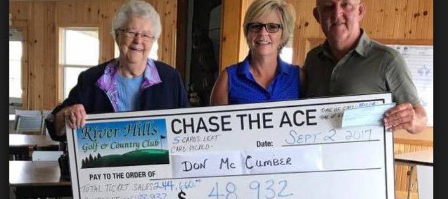 Chase the Ace pays out largest ever jackpot  of $650,000