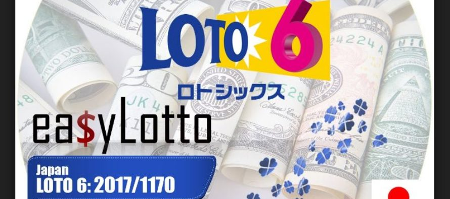 September 11th Japan Lotto 6 Lottery Results