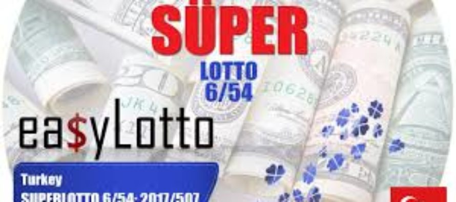 Turkey Super Lotto 6/54 Results