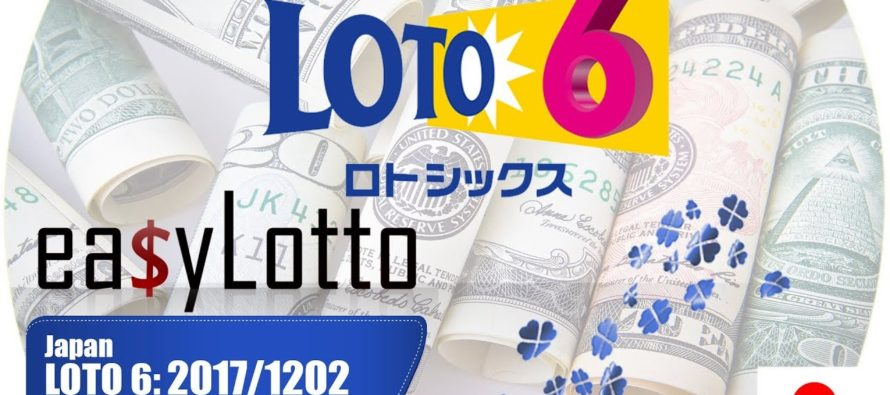 September 21st Japan Lotto 6 Lottery Results