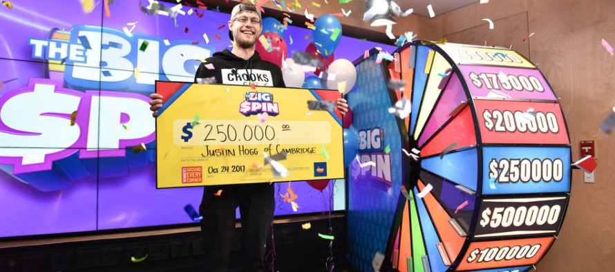 27-year-old wins $250,000 on OLG's New Game