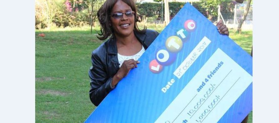 The mother of three achieved a life-changing feat worth Sh11 million