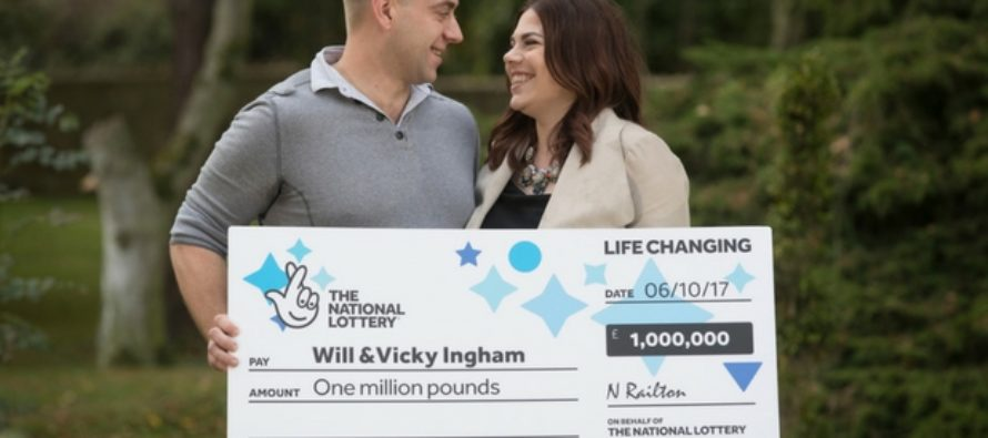 Will & Vicky Ingham Win £1 Million in the EuroMillions