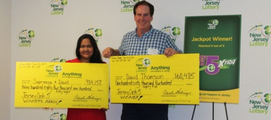 Prediction turns reality as David Wins 2 Cash 5 Jackpots in 6 months