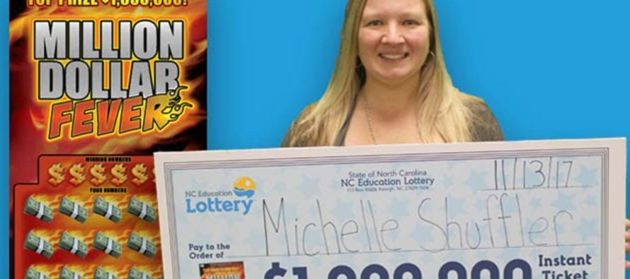 Michelle Shuffler Becomes the Second NC Woman to Hit Two Jackpots
