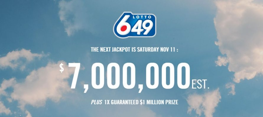 Two Players Split $7 Million Lotto 649 Jackpot
