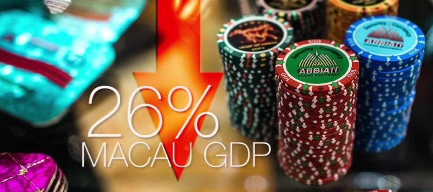 World's biggest casino hub jumped over 20 percent during golden week