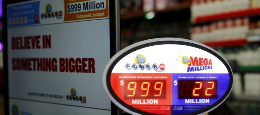 Saturday's US Powerball Without A Winner