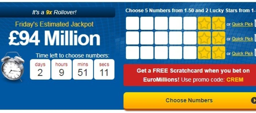 EuroMillions Winning Numbers for 5th December 2017
