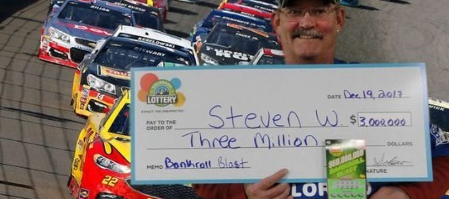 Fort Collins Man Wins a Colorado Lottery Jackpot of $3M