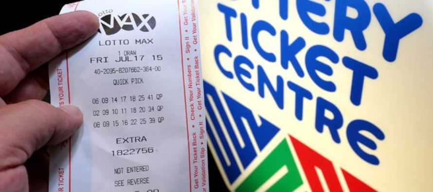 Nine Colleagues Win $60 Million Lotto Max Jackpot