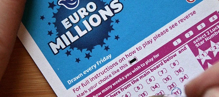 Tuesday's EuroMillions Jackpot Sits at £135 Million